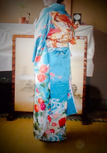 My Grandfather Kimono design